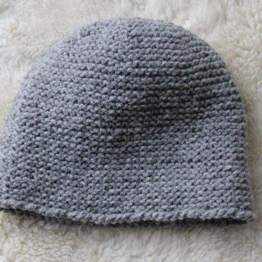 Mütze aus Naturwolle