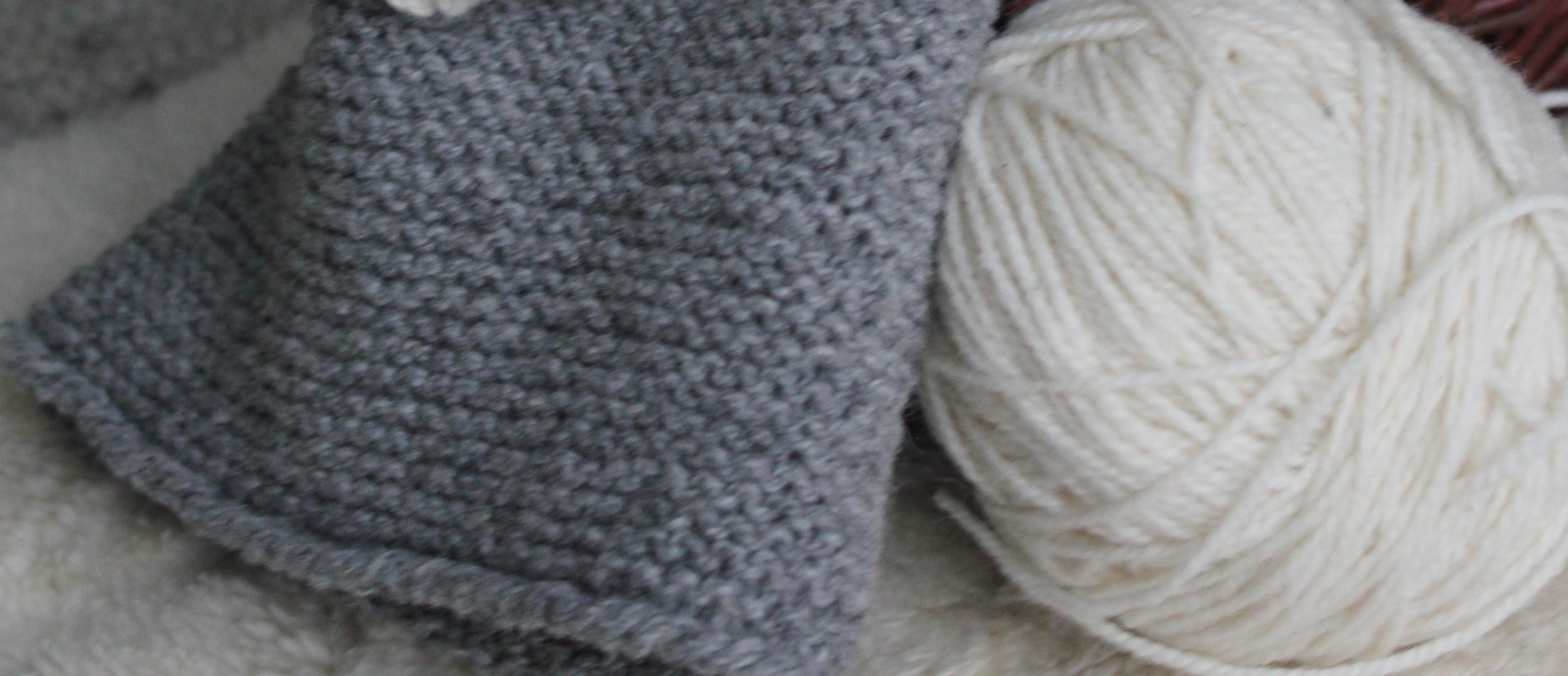 Schafwolle für Mütze