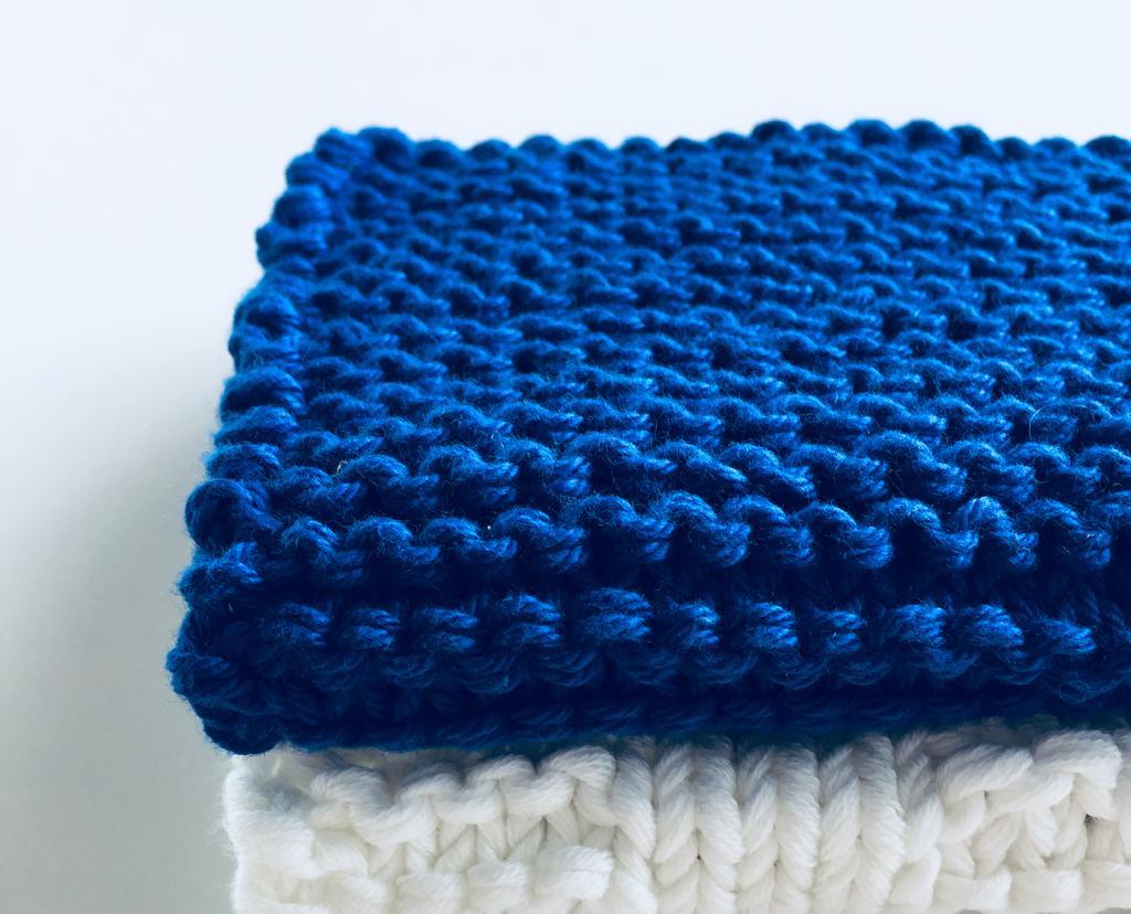 Waschhandschuh aus Baumwolle