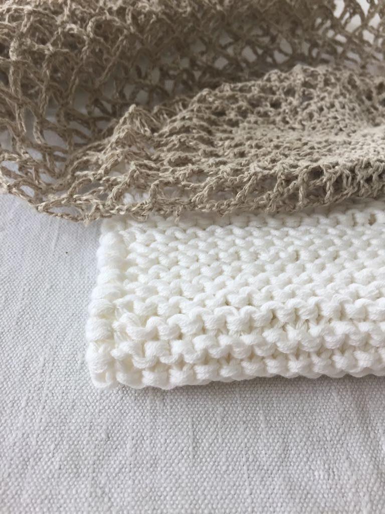 Waschtücher aus Baumwolle