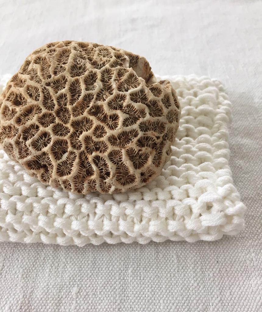 Baumwollwaschhandschuh