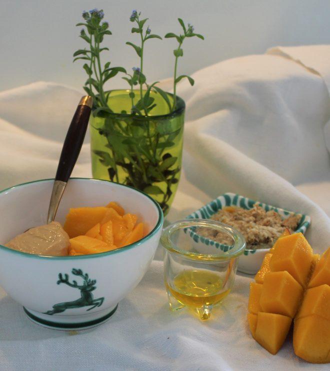 Müsli mit Mango